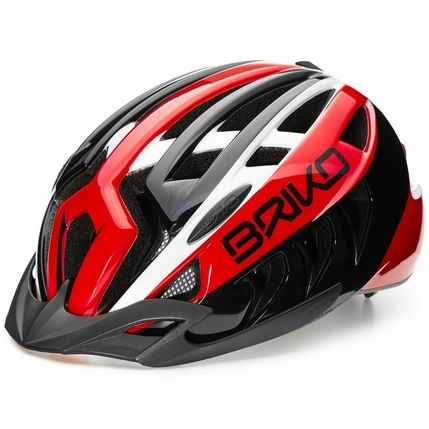 BRIKO HELMA ARIES CORSA 2018 ZE0 black-white-red