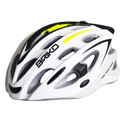 BRIKO HELMA QUARTER 2014 593 Fmatt-white-black-yellow-f