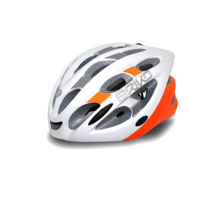 BRIKO HELMA QUARTER Wmattwhite-silver-orange