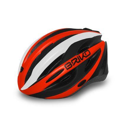 BRIKO HELMA SHIRE 2018 100 969 orange-black-white