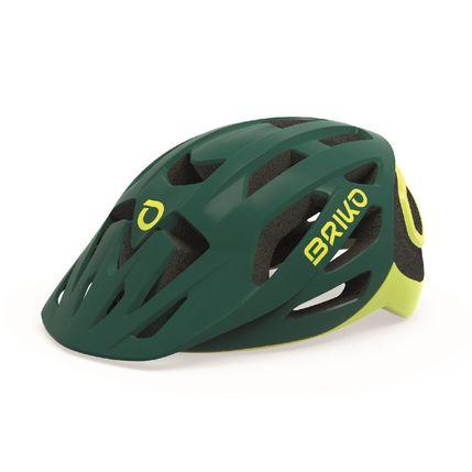 BRIKO HELMA SISMIC 2019 9X0 911 matt green yellow fl