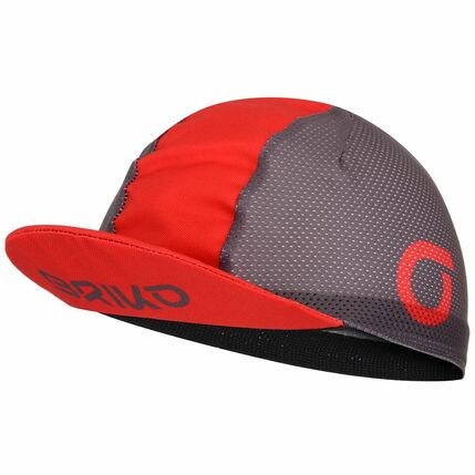 BRIKO VISOR CAP 2020 RK0 brownfango-red