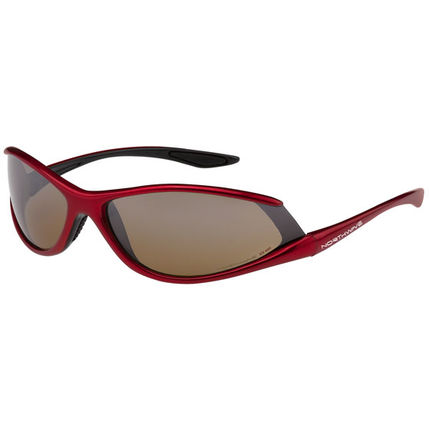 NW BRÝLE HURRICANE 2010 005 black-red