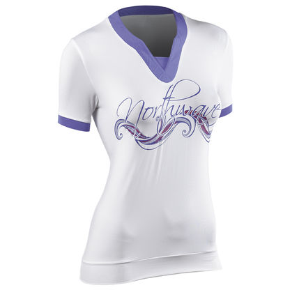 NW DRES ADRENALINE GRAPHIC lady 2014 021 white