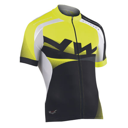 NW DRES EXTREME GRAPHIC 2014 004 black-yellow-fluo