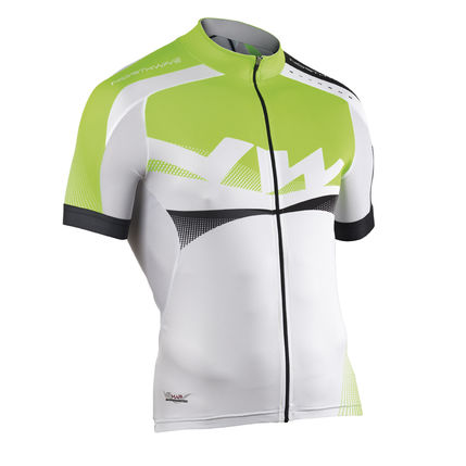 NW DRES EXTREME GRAPHIC 2014 004 white-green