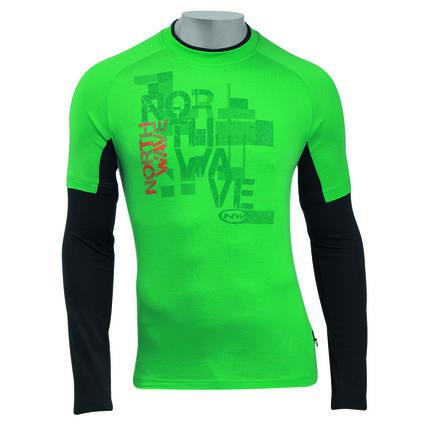 NW DRES MAGGIORE dl. rukáv 2012 035 green-black