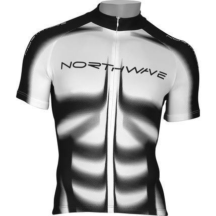 NW DRES MUSCLE 2010 045 white-black