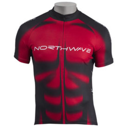 NW DRES MUSCLE 2011 045 red-black