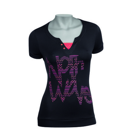 NW DRES PEARL graphic lady 2012 060 black