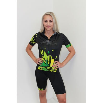 ROSTI DRES EXPLORER lady dlouhý zip 2020 009 16 black-green