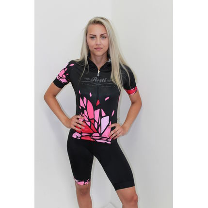 ROSTI DRES EXPLORER lady dlouhý zip 2020 009 black-pink