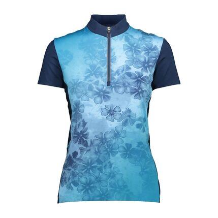 WOMAN BIKE T-SHIRT 18LG IBIZA-BLUE