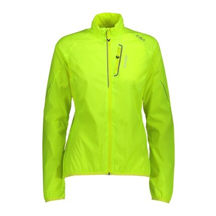 WOMAN JACKET R626 YELLOW FLUO