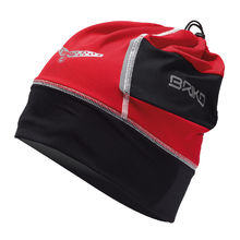 BRIKO ČEPICE WARM GAITOR 13'14 449 RBblack-red-white
