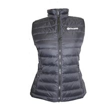 L.DOWN VEST 2244 black-purple