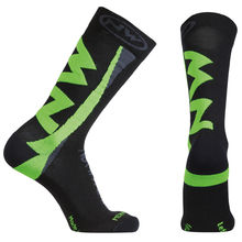 NW PONOŽKY EXTREME WINTER 15'16 202 black-greenfluo