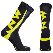 NW PONOŽKY EXTREME WINTER 15'16 202 black-yellowfluo