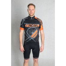 ROSTI DRES RUOTA dlouhý zip 2018 002 black-orange